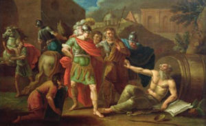 Alexander and Diogenes: The Issue of Freedom